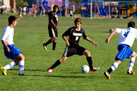 Corning Varsity Boys Soccer at Horseheads incl Team and Seniors Photos 08-30-12