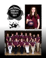 East High Varsity and JV Bowling 2009-10