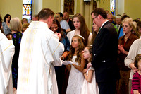 First Communion at St Mary's 05-05-12