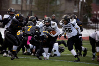 Corning Varsity Football vs Henninger at CNS 11-15-14