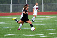 Corning Varsity Girls Soccer at Elmira 09-15-14