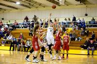 Notre Dame Varsity Girls Basketball vs Waverly 01-20-15