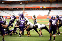 Corning Varsity Football vs Watertown Cyclones at the Carrier Dome 09-06-14