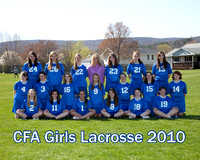 CFA Girls Lacrosse 2010